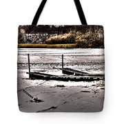 Winter On The Bay Tote Bag