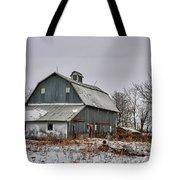 Winter On The Farm 2 Tote Bag