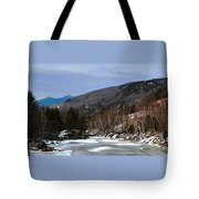 Winter On The Pemi Tote Bag