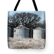 Winter On The Prairie Number 1 Tote Bag