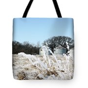 Winter On The Prairie Number 2 Tote Bag