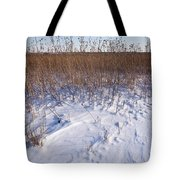 Winter On The Prairie Tote Bag