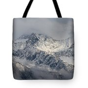 Winter On The Way Tote Bag