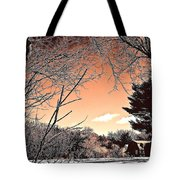 Winter Pastel Tote Bag