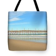 Roller Coaster Pier  Tote Bag