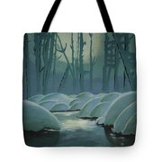 Winter Quiet Tote Bag