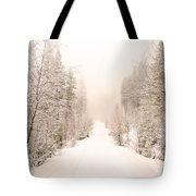 Winter Quiet Tote Bag
