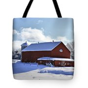 Winter Red 2010 Tote Bag
