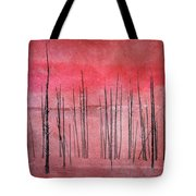 Winter Red  7913red Tote Bag