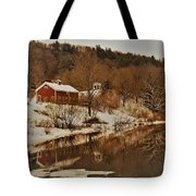 Winter Reflection 2 Tote Bag
