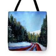 Winter Road Trip Tote Bag