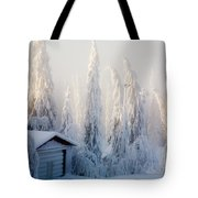 Winter Scene Tote Bag by Kati Molin