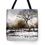 Winter Scene Stainland Tote Bag