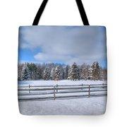 Winter Scenery 14589 Tote Bag