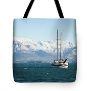 Winter Sea Tote Bag