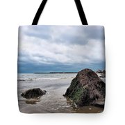 Winter Seascape - Lyme Regis Tote Bag