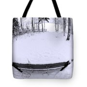 Winter Seat 2 Tote Bag