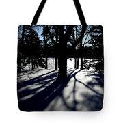 Winter Shadows 2 Tote Bag