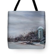 Winter Silence Tote Bag