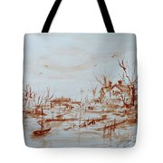 Winter Sketch 1 Tote Bag