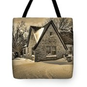 Winter Snow II Tote Bag