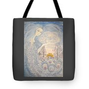 Winter Snow Sows Tote Bag