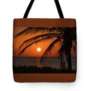 Winter Solstice Sunrise 2 Delray Beach, Florida Tote Bag