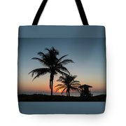 Winter Solstice Sunrise Delray Beach Florida Tote Bag