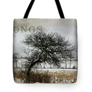 Winter Songs Tote Bag