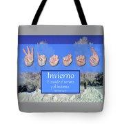 Winter Spanish Tote Bag