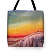 Winter Spectrum Tote Bag
