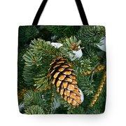 Winter Spruce Tote Bag