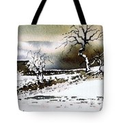 Winter Stainland Tote Bag