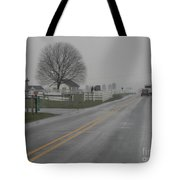 Winter Still Holds On In Early Spring Tote Bag