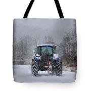 Winter Storm Jonas Tote Bag