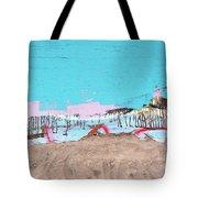 The Beach In Winter  Tote Bag