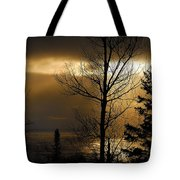 Winter Sunrise 1 Tote Bag