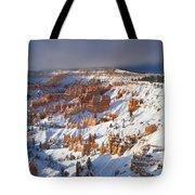 Winter Sunrise Bryce Canyon National Park Utah Tote Bag