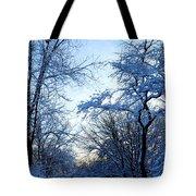 Winter Sunrise II Tote Bag