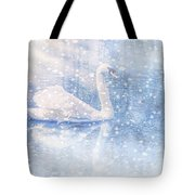 Winter Swan Tote Bag