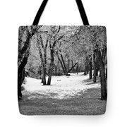 Winter Swing Tote Bag
