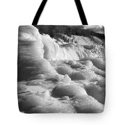 Winter Texture Tote Bag