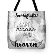 Winter Themed Card Design Tote Bag