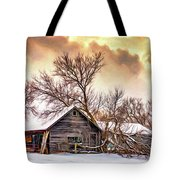 Winter Thoughts 2 - Paint Tote Bag