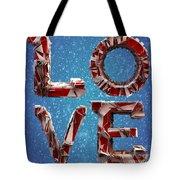 Winter Time Love Tote Bag