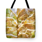 Winter Trees On Snow 2 Tote Bag