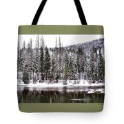 Winter Trees Tote Bag