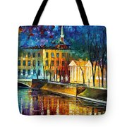 Winter Vibrations Tote Bag