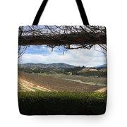 Winter Vines Tote Bag