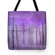 Winter Violet  7913violet Tote Bag